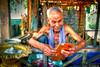 Fortune-Teller-at-Wat-Ek-Phnom-Battambang-Cambodia (Captain Kimo) Tags: portrait cambodia oldman fortuneteller highdynamicrange battambang photomatixpro tonemapping watekphnom hdrphotography singleexposurehdr topazclean topazadjust mygearandme captainkimo