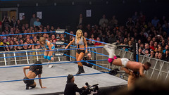 The Blossom Twins and Marty Scurll vs Tara, Gail Kim and Jessie at TNA Impact Live in London 2013 (interbeat) Tags: london jessie tour tara live wrestling january arena impact wembley tna gailkim 2013 tvtaping martyscurll theblossomtwins britishbootcamp maximumimpactv
