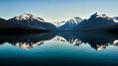 Mirrored Mountains (Tim Grey 5D3) Tags: park lake nature beautiful canon landscape photography grey tim scenery view angle state wide stunning vista glaciernationalpark moutain breathtaking mcdonald cpl f3556 18135mm 60d canonefs18135mmf3556is vigilantphotographersunite vpu2 vpu3 vpu4 vpu5 vpu6 vpu7 vpu8