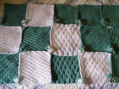 Knit-a-Square Project 1
