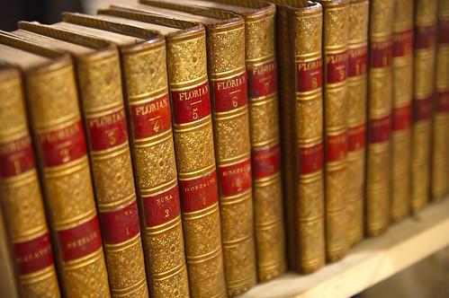 L'objet social des deux librairies : des livres anciens (Helene Hanff)