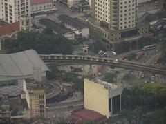 From Menara Telecom Tower #2 (zschachwitz) Tags: malaysia kualalumpur monorail menaratelecomtower