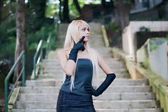Thaina hadmad (Vanderlei Gomes Fotografia :-]) Tags: brazil woman black girl brasil dark model dress mulher gothic modelo teen blonde garota cemitrio paulo menina so cemitery loira morena tumulo gtica brunet arac