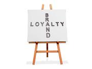 Art Easel Brand Loyalty (One Way Stock) Tags: support duty crossword attachment company devotion trust brand loyalty trueness