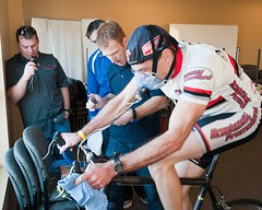 Team Breakaway lactate threshold and VO2max test with Fitmate PRO at Mid-Columbia Medical Center (MCMC) (Metabolic News) Tags: desktop test mobile training portable energy heart exercise o2 reserve peak tolerance oxygen human chamber mixing lactate hr cart fitness stress output functional mets prescription zone cardiovascular metabolism breathing ventilation intensity rate wellness evaluation ecg cardiac indirect capacity threshold physiology wasserman impairment vo2 vo2max uptake expenditure cardiopulmonary metabolic at cpet anaerobic cosmed calorimetry acsm spiroergometry ergospirometry rehabilitationresting hyperinflationinspiratory