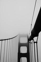 Suspension Tower (webbmb) Tags: sanfrancisco california usa tower fog suspension goldengatebridge