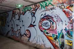 Novedades - IV (r2hox) Tags: graffiti urbanart santiagodecompostela arteurbano abandonedspaces
