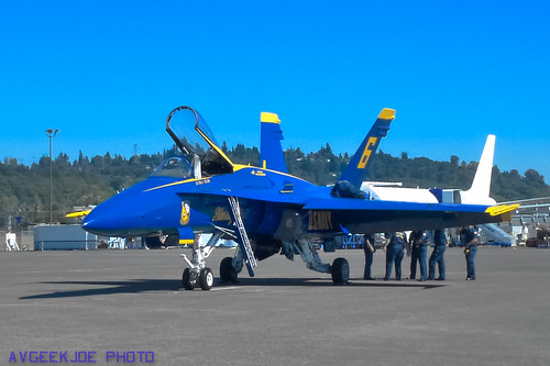 The penultimate picture of a Blue Angel I ever took?