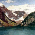"<b>Lake Louise</b><br/> Gausta, #13, Oil, Painting<a href=""//farm9.static.flickr.com/8384/8638184402_282e664e69_o.jpg"" title=""High res"">&prop;</a>"