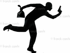 man thief criminal running (Franck Camhi) Tags: shadow people man male silhouette mystery cutout person one 1 gangster holding escape adult mask threatening menacing profile fulllength evil terrorist indoors criminal whitebackground crime thief mysterious hood studioshot robbery sideview anonymous burglary isolated threat menace stealing oneperson burglar intruder robber holdup oneman escaping looting robbing unrecognizable