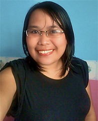 Big Smile (mikeeliza) Tags: portrait woman brown black hot girl beautiful smile face smiling dark hair asian glasses big eyes pretty bright skin shaped bbw philippines young almond lips full pinay filipina brunette eyebrows pinoy voluptuous mikeeliza