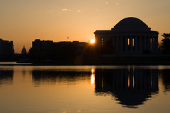 Last Sunrise (Tony DeFilippo) Tags: flowers nature washingtondc dc washington cherryblossoms jeffersonmemorial dcmonument