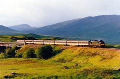 37403 at rannoch (47604) Tags: bridge scotland sleeper whl rannoch westhighlandline class37 37403