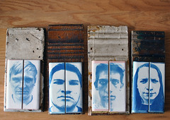 """Meth Binge""- Completed (abbi.wright) Tags: wood portrait tile construction pittsburgh alt junction refurbished processes alternativeprocesses constructionjunction pittsburghpennsylvania cyantoype nikond3000 methbinge cyanotypetile"