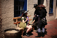 (Russ Bradshaw) Tags: festival baltimore historic pirate recreation russ reenactment fellspoint bradshaw privateer