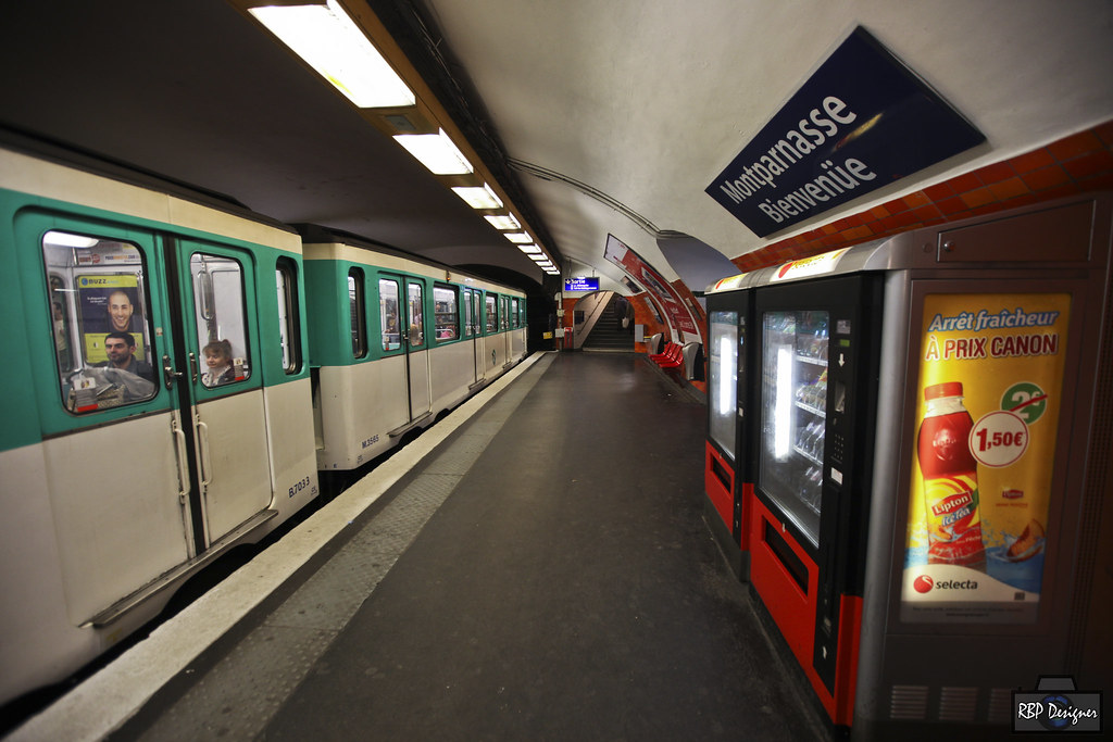 Montparnasse Bienvenüe Station