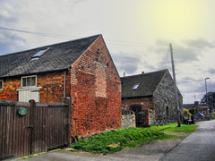Converted Barns in Ratby! (**Hazel**) Tags: barns hazel converted hdr ratby
