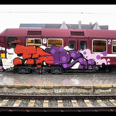 The party goes on: another #TAPS in Belgium!! (Paintedtrains) Tags: taps traingraffiti paintedtrains