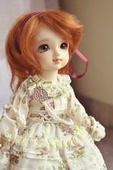 Little Saint (Purple  Enma) Tags: girl ball doll dolls yo super sd bjd resin volks jointed dolfie yosd megohime
