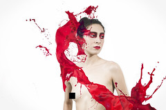 Splash (fotoapss) Tags: splash digital edit retouch red