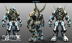 Robot Character Modeling (GameYanStudio) Tags: robot character modeling charactermodeling characteranimation 3dmodeling studio company services
