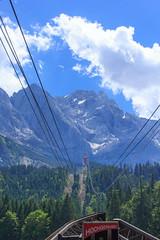 Eibsee-Seilbahn to Zugspitze (RunningRalph) Tags: cablecar deutschland duitsland germany kabelbaan seilbahn zugspitze grainau bayern