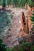 Monument Cove (The Burgys) Tags: landscape acadia nationalpark acadianationalpark maine coast coastal beach mountdesertisland mdi sunrise clouds ocean color rocks granite sony a99 sonya99 zeiss zeiss1635 summer polarizer wideangle monumentcove monument cove
