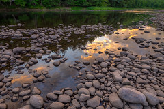 Reflections of Hope (djrocks66) Tags: sunset sunrise hope mountains outdoors landscapes waterscapes nature hiking reflections rocks rivers fuji xt1 ny water trees adirondacks