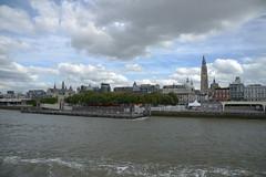 Antwerpen DST_7626 (larry_antwerp) Tags: steen kathedraal cathedral ponton antwerp antwerpen       schelde        belgium belgi