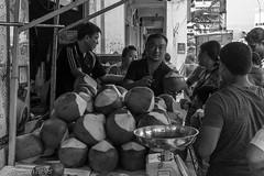 Refreshing (FrozenTales) Tags: littleindia singapore serangoon settlement street vendor hawkers bw