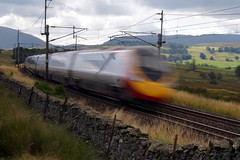 Speed blur Pendolino (kailhen) Tags: railway pendelino speed blur fast cumbria cumbrian lake district national park