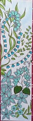 Marica  Zottino, Mes marque-pages  colorier : feuilles (Rustica Editions) Feutres  alcool (delphinecingal) Tags: maricazottino mesmarquepagescolorier feuilles rusticaeditions colors couleurs coloring coloriage feutresalcool coloriages