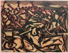 Jackson Pollock, Untitled, c. 1938-41 (Sharon Mollerus) Tags: museumofmodernart newyork unitedstates cfp16