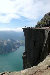 The famous 604 meters (daniel.virella) Tags: norge preikestolen lysefjorden norway nature people landscape fjord hiking outdoor picmonkey