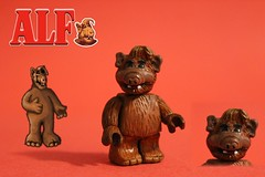 LEGO Custom | ALF (The FUDGY) Tags: alf lego custom red background furry 80s show