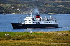 Leaving Stornoway (CraigAllanPhotography) Tags: ferry ship calmac po astoria ships lewis lochseaforth seaforth mv mvoriana minch sailing seas harris