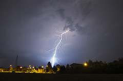 Lightnings (Emilio Pellegrinon) Tags: night power nature lightning thunder