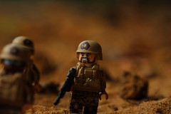 Long Range Evac (lego slayer) Tags: lego brickarms brickmania special forces desert recon