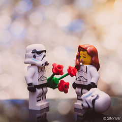 Love & Peace (XINYAW13) Tags: lego starwars stormtrooper toy toyphotography