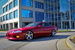 SC300 outside the ATT building (BobbySanders22) Tags: atlanta red canon silver inch bc atl low wheels racing toyota flush dslr caffeine rims 19 coupe lowered matte jdm concave lexus octane slammed stance coilovers camber monoblock sc300 machined vossen cv3 soarer staggered sc400 fitment 60d hellaflush stanceworks canibeat stancenation teamvossen concavesociety