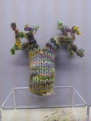 Binary Bonsai (MadeleineS) Tags: trees tree alpaca textile bonsai binary knitted botanicamathematica