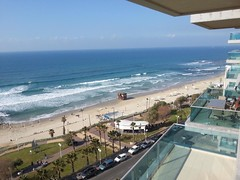 View from balcony, Bat Yam(4) (dlisbona) Tags: sea vacation holiday vacances israel telaviv view apartment flat rental location appartement luxury seaview batyam louer apartement sejour