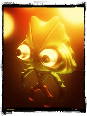 123D Creature, Snapseed, Pixlr-o-matic