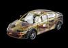 Qoros 3 Sedan - Safety structure (bigblogg) Tags: sedan qoros3 qorosgq3 geneva2013