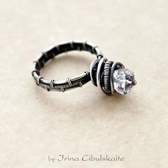 (Taniri) Tags: rock crystal ring jewellery sterlingsilver