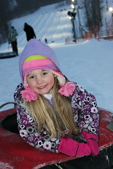 Tubing fun... (Bluestep) Tags: winter snow cold fun fast tubing snowtrails