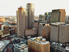From The Top Of The Custom House 3 {Explored} (AnthonyTulliani) Tags: city building boston 100v 10f iphone phoneography iphone5 iphoneography vscocam uploaded:by=flickrmobile flickriosapp:filter=nofilter