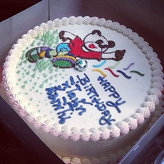 เค้กวันเกิดคุณหลาน #cake #th #thai #Birthday