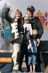"""LS 2006. Dronninga Mette Elisabeth Finnestad med mann og barn • <a style=""""font-size:0.8em;"""" href=""""http://www.flickr.com/photos/93335972@N07/8510326631/"""" target=""""_blank"""">View on Flickr</a>"""