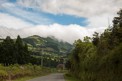 Land of Green (wenzday01) Tags: travel mountain clouds vanishingpoint nikon costarica driving fields nikkor alajuela d90 nikond90 18105mmf3556gedafsvrdx